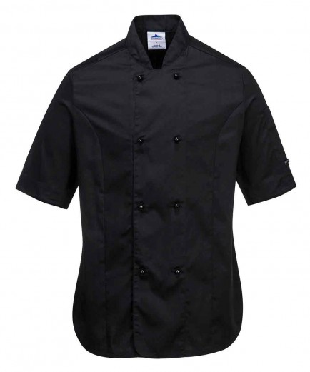 Portwest C737 Rachel Ladies Short Sleeve Chefs Jacket