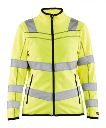Blaklader 4966 Ladies Microfleece Jacket High Vis