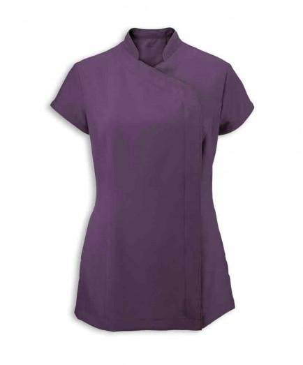 Alexandra Women's Easycare Wrap Zip Beauty Tunic