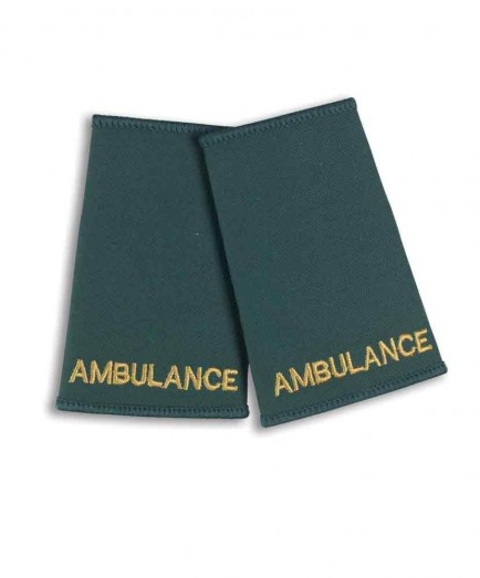 Alexandra Ambulance Epaulette Sliders