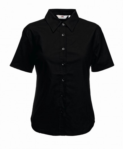Fruit of the Loom SS471  Ladies Short Sleeve Oxford Shirt