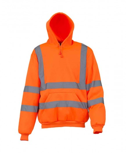 Yoko YK032 High visibility pull-over hoodie (HVK05)