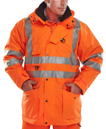 B-Seen 7IN1 Elsener 7 in 1 Hi-Viz Jacket