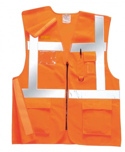 Portwest RT26 Executive Rail Vest GO/RT