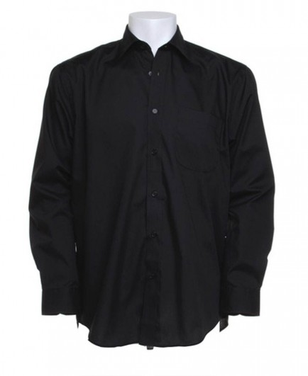 Kustom Kit Long Sleeve Business Shirt