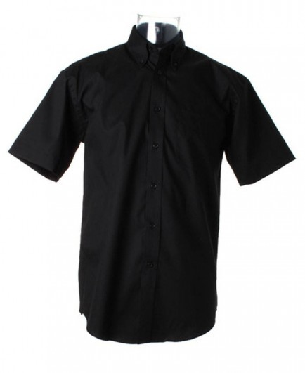 Kustom Kit Short Sleeve Corporate Oxford Shirt
