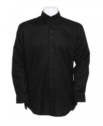 Kustom Kit Long Sleeve Workwear Oxford Shirt