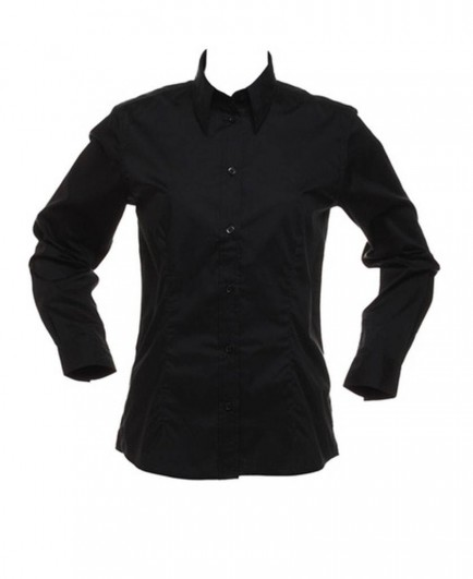Kustom Kit Bargear® Ladies Long Sleeve Shirt