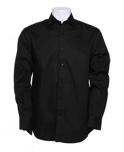 Kustom Kit Long Sleeve Executive Premium Oxford Shirt