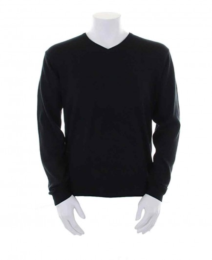 Kustom Kit Arundel Cotton Acrylic V Neck Sweater