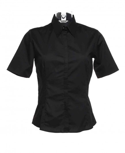 Kustom Kit Bargear® Ladies Short Sleeve Shirt