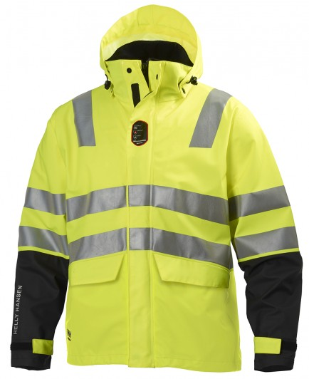 Helly Hansen Asker Hi Vis Fr Rain Jacket
