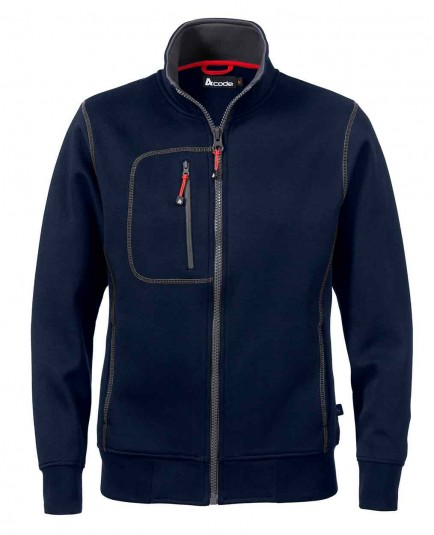 Acode 1748 Ladies Full Zip Sweatshirt