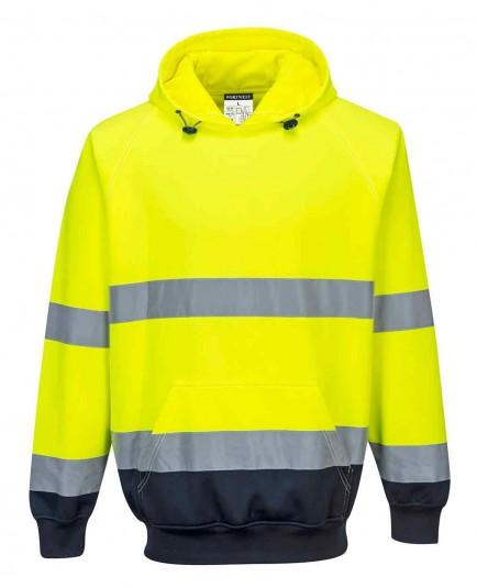 Portwest B316 Two-Tone Hooded Sweatshirt