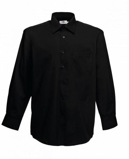Fruit of the Loom SS412  Long Sleeve Poplin Shirt