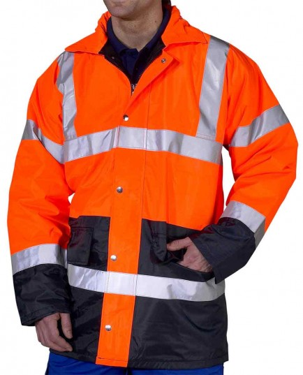 B-Seen TJSTTENG Two Tone Traffic Jacket