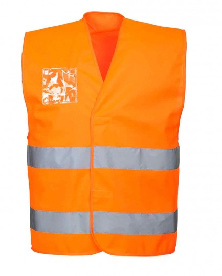 Portwest C475 Hi-Vis Vest - ID Holder