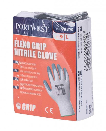 Portwest VA310 Flexo Grip Nitrile Glove (Vending)