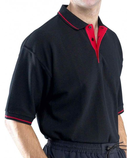 Click CLPKSTT Two Tone Polo Shirt