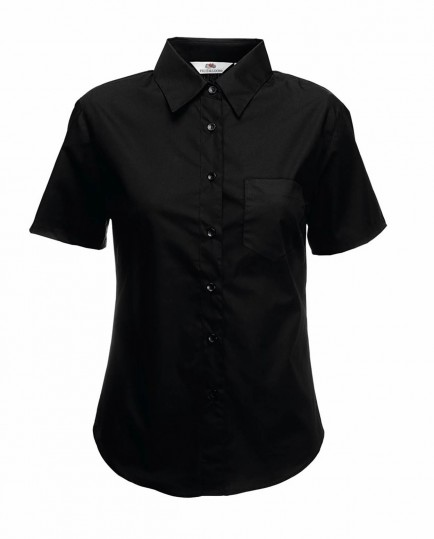 Fruit of the Loom SS481  Ladies Short Sleeve Poplin Shirt