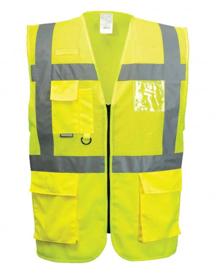 Portwest C496 Madrid Executive Mesh Vest