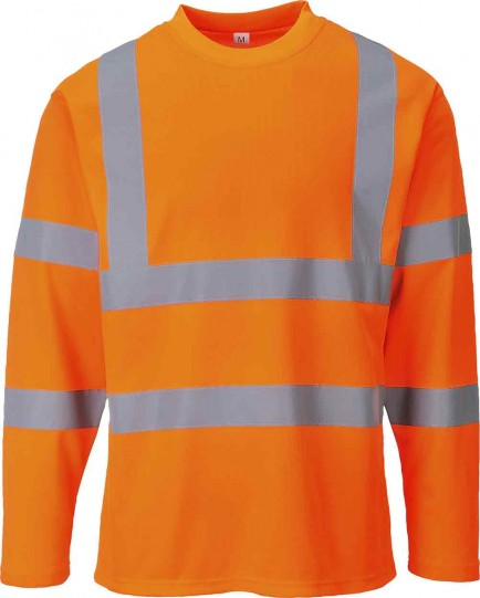 Portwest S278 Hi Vis Long Sleeved T-shirt