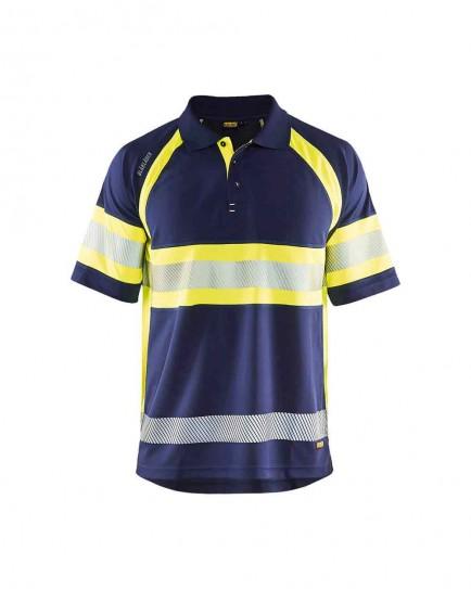 Blaklader 3338 Uv Polo Shirt High Vis Class 1
