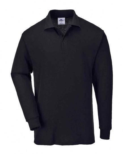Portwest B212 Long Sleeved Polo Shirt