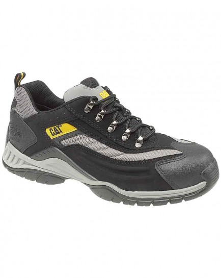 CAT Moor Safety Trainers Black