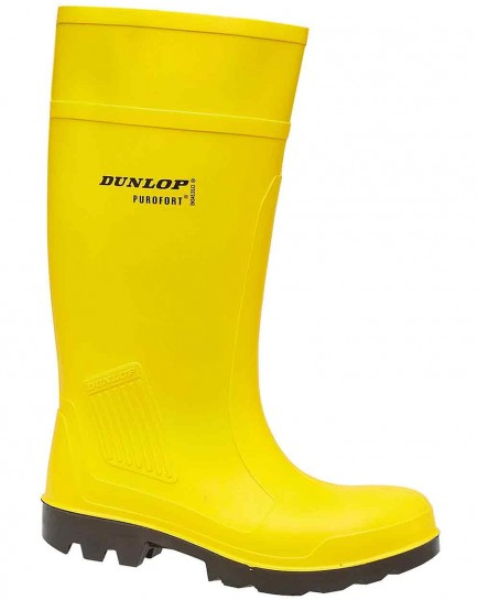 Dunlop Purofort C462241 Full Safety Wellington Yellow