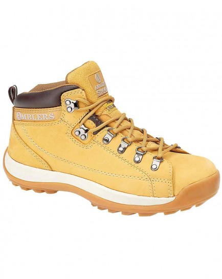 Amblers FS122  Steel Safety Hiker Boot Honey