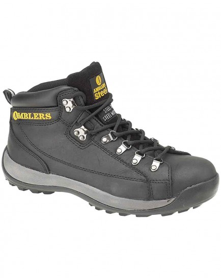 Amblers FS123 Steel Safety Hiker Boot Black