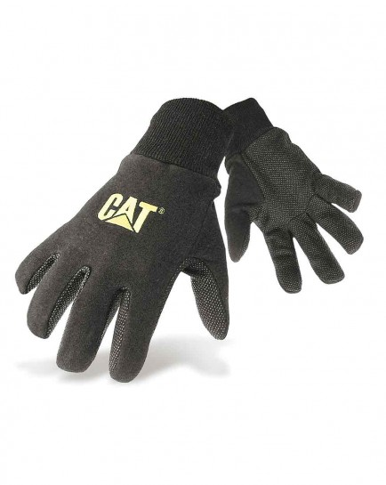 CAT 15400 Jersey Dotted Palm Glove