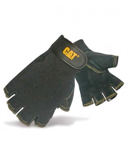 CAT 12202 Pig Skin Fingerless Glove