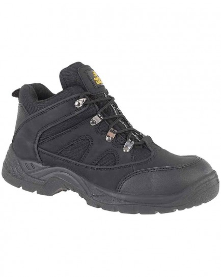Amblers Steel FS151 SB-P Mid Boot Black