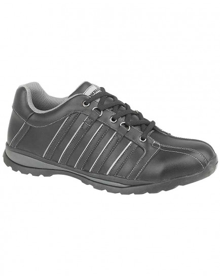 Amblers FS50 Black Safety Trainer