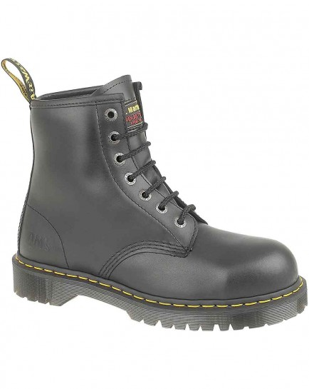Dr Martens Traditional 7 Eyelet Steel Toe Boot