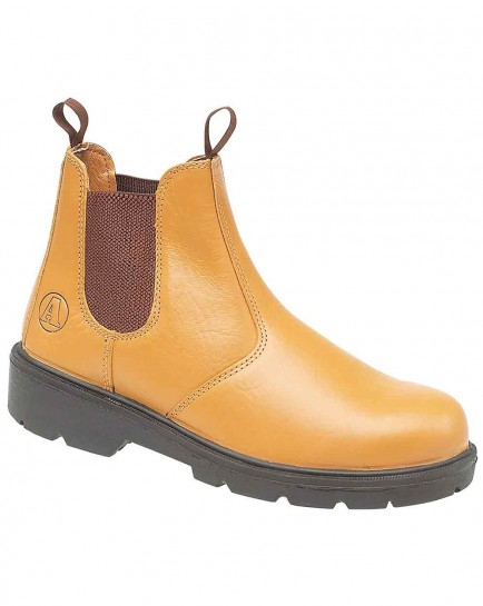 Amblers Steel FS115 Dealer Boot Tan