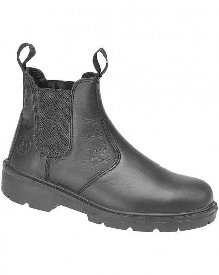 Amblers Steel FS116 Dealer Boot Black