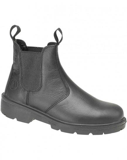 Amblers Steel FS116 Dealer Boot Black