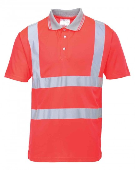 Portwest S477 Hi-Vis Short Sleeve Polo Shirt
