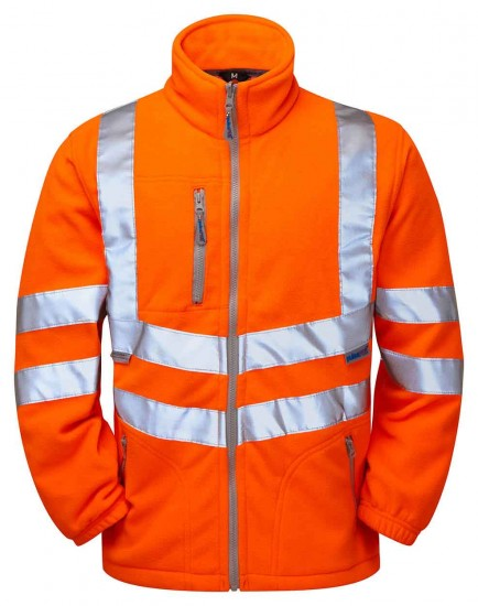 PULSAR PR508 Rail Spec Hi-viz Interactive Fleece Jacket