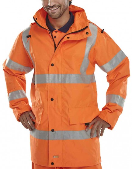 B-Seen JJ Jubilee Breathable Hi-Viz Jacket