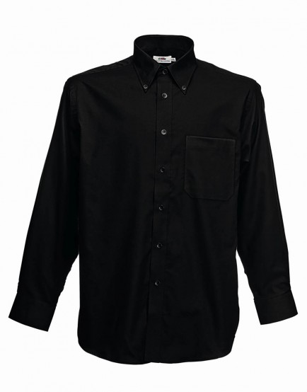 Fruit of the Loom SS402  Long Sleeve Oxford Shirt