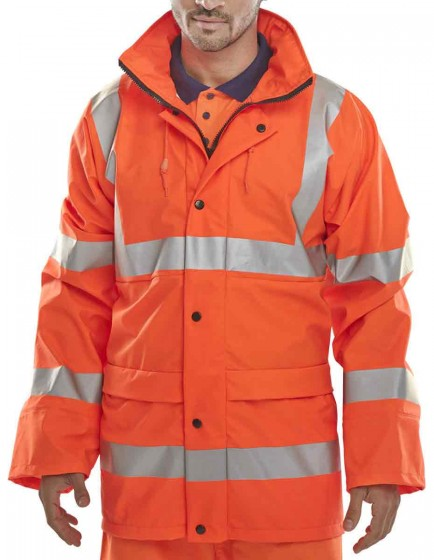 B-Seen PUJOR Super B-Dri EN471 Jacket