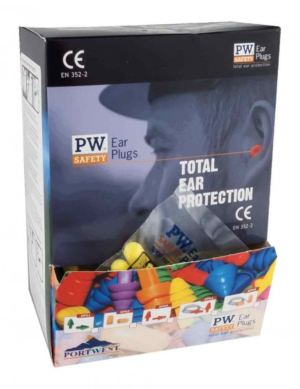 Portwest EP21 Ear Plug Dispenser Refill Pack.