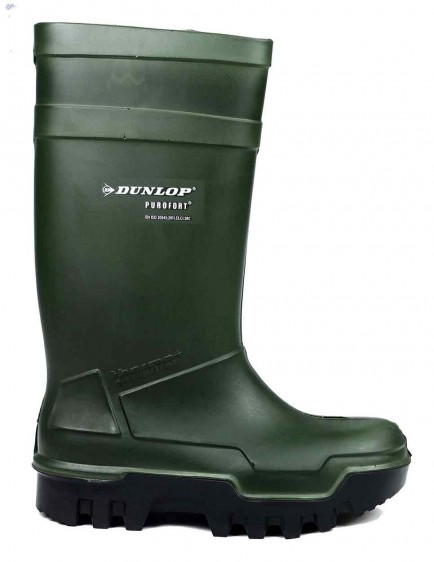 Dunlop Purofort C662933 Thermo+ Safety Wellington Green