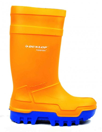 Dunlop Purofort C662343 Thermo+ Safety Wellington Orange