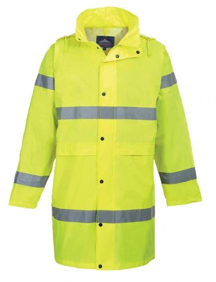 Portwest H442 Hi-Vis Rain Coat