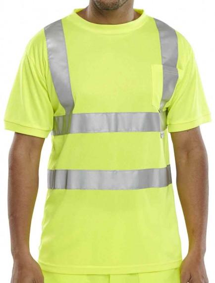 Click BSCNTSEN Hi-Viz T-Shirt
